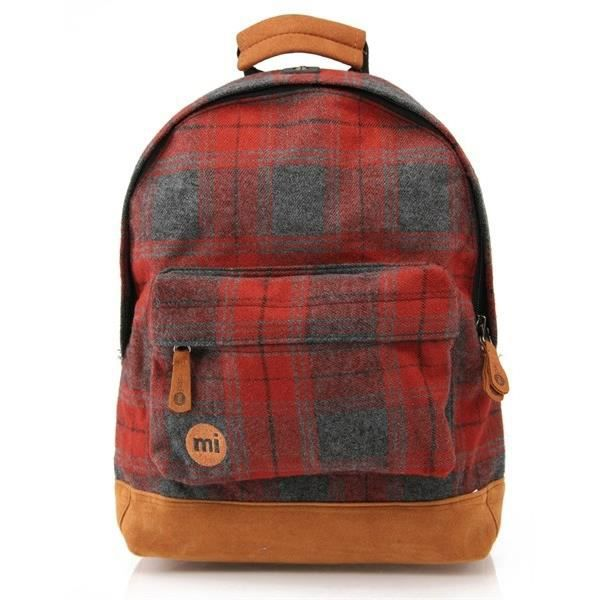MIPAC Mini Sac à dos Red Plaid