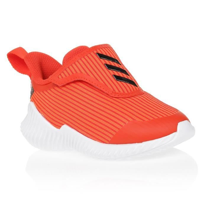 ADIDAS Baskets Forta Run AC I - Bébé - Orange et blanc