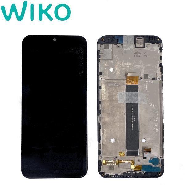 Wiko View 3 Lite Ecran Complet Noir Original avec Châssis
