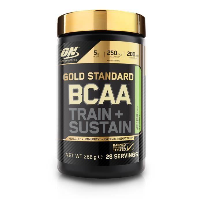 OPTIMUM NUTRITION Pot BCAA Train & Sustain Pomme / Poire - 266 gr