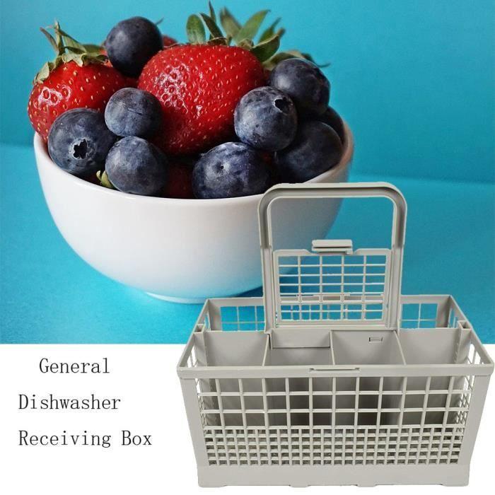 Panier a couvert pour lave vaisselle Boîte de rangement universel