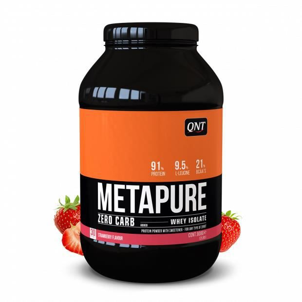 Metapure Whey Protein Isolate Fraise 908 g