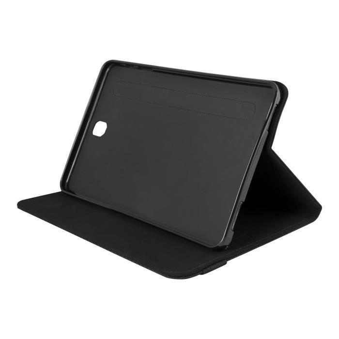 URBAN FACTORY Portfolio Case Samsung Tab S2(VE) Black - Protection à rabat pour tablette - nylon tweed - Noir/noir
