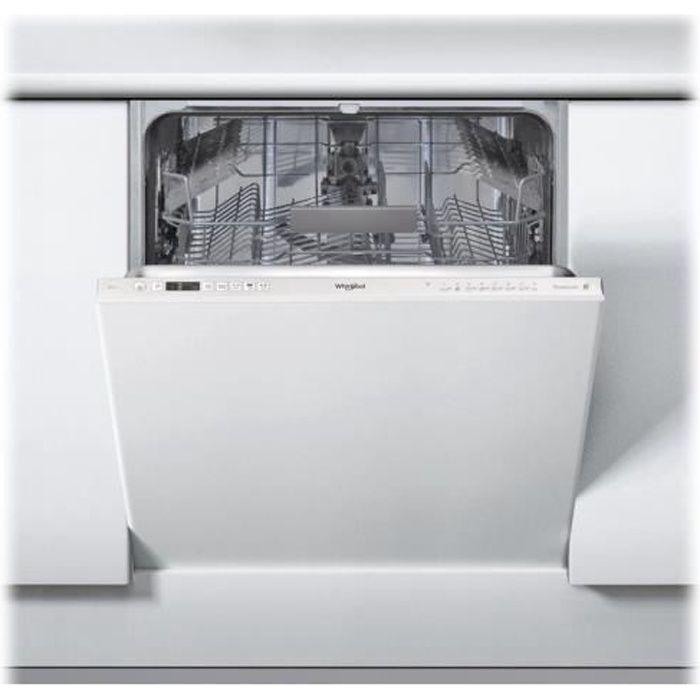 Whirlpool WRIC 3C26 P Lave-vaisselle intégrable Niche largeur : 60 cm profondeur : 57 cm hauteur : 82 cm