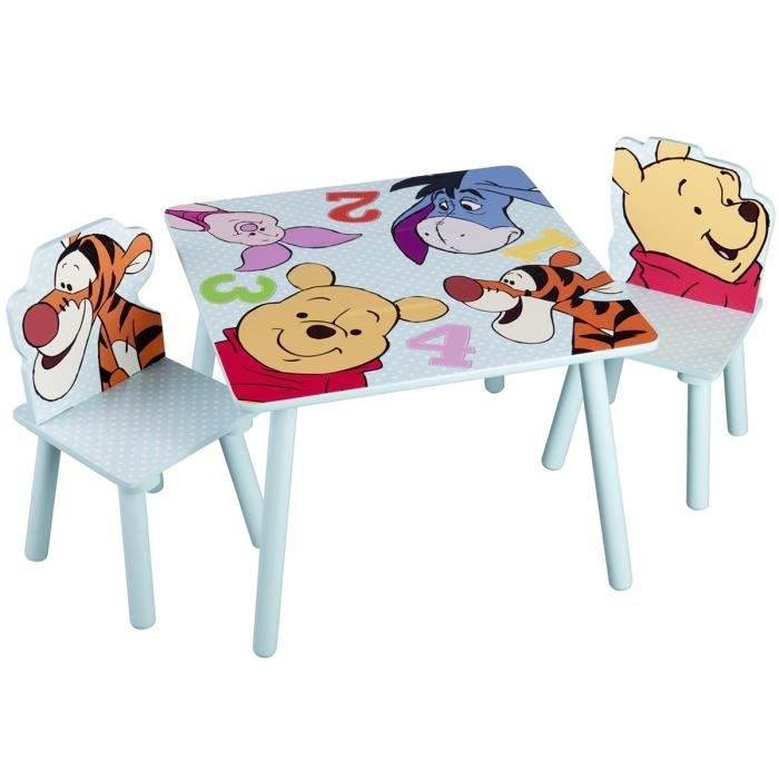 Table winnie l ourson