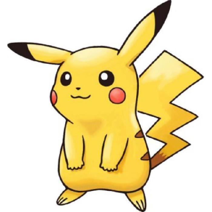Dessin De Pikachu Pokemon Dimensions 33 X 48 Cm Achat