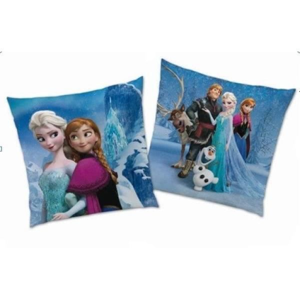 coussin la reine des neiges frozen 40x40 achat vente. Black Bedroom Furniture Sets. Home Design Ideas