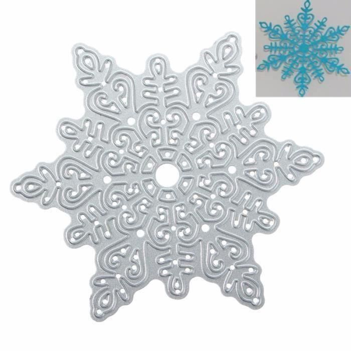 Diy Flocon De Neige Metal Matrice Decoupe Pochoir Moule Carte Album Noel Decor Bo72223 Achat Vente Gabarit De Decoupe Diy Flocon De Neige Metal Matr Cdiscount