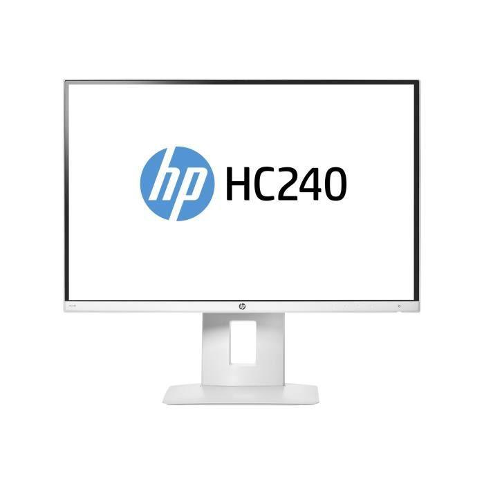 "ECRAN ORDINATEUR HP HC240 - Healthcare - écran LED - 24"" (24"" visua"