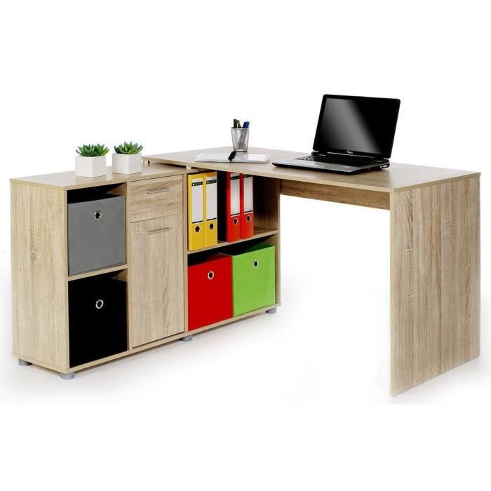 bureau biblioth que ch ne carmen achat vente bureau bureau biblioth que ch ne c cdiscount. Black Bedroom Furniture Sets. Home Design Ideas