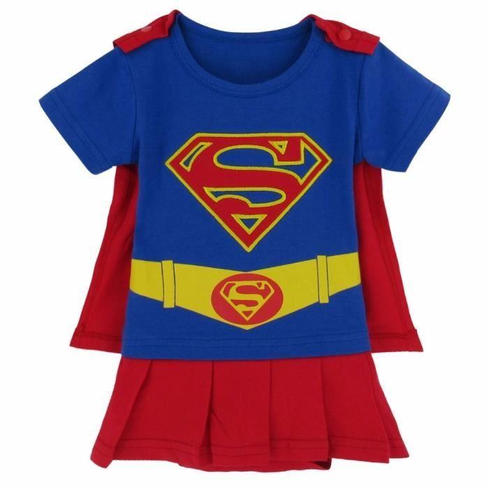 18-24 Mois Tenue infantile inspir/ée de Supergirl
