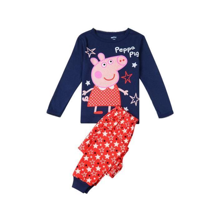 Peppa Pig Ensemble Pyjama pour Fille