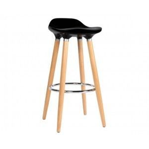 tabouret de bar italien noir achat vente tabouret de bar bois plastique cdiscount. Black Bedroom Furniture Sets. Home Design Ideas