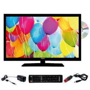 Téléviseur LED ANTARION Téléviseur HD DVD Slim LED 21,5