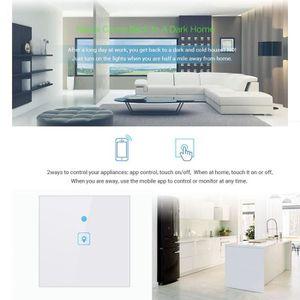 SWITCH - HUB ETHERNET  UK Smart WiFi One Switch Switch Switch pour Amazon