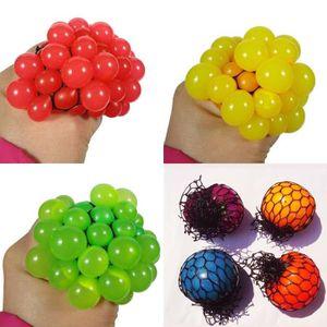 HAND SPINNER - ANTI-STRESS Anti Stress Visage Reliever Grape Balle Autism Moo