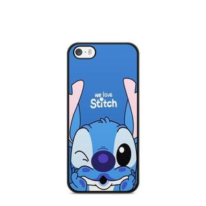 coque iphone 5 5s se lilo stitch tortue love o