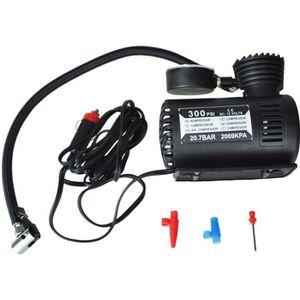 COMPRESSEUR AUTO 12v Voiture auto Pompe electrique Compresseur d'ai