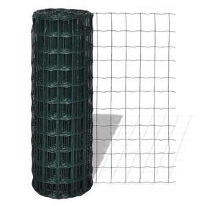 CLÔTURE - GRILLAGE Grillage 10 X 1,2 M Avec Mailles 76 X 63 Mm D0F3B