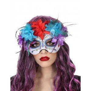 Masquerade bal masqué masque yeux adulte super héros bandit déguisement choisir une couleur