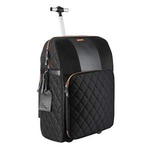 VALISE - BAGAGE Cabin Max Travel Hack Pro Trolley de Cabine Noir a