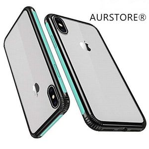 COQUE - BUMPER AURSTORE Coque Iphone iPhone XS Max,Coque Transpar