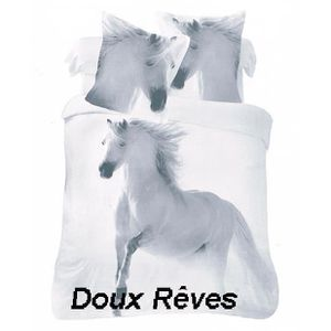 housse de couette cheval achat vente housse de couette cheval pas cher. Black Bedroom Furniture Sets. Home Design Ideas