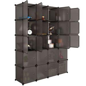 ARMOIRE DE CHAMBRE Armoire de Rangement 20 Cubes Armoire de Chambre e