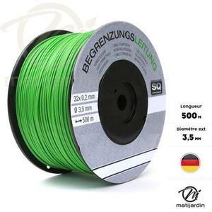 PIÈCE OUTIL DE JARDIN Câble spécial pour tondeuse robot 500m x 3,5mm