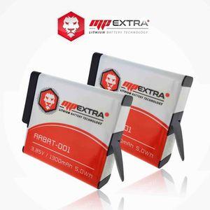 BATTERIE APPAREIL PHOTO 2 x batteries + chargeur pour GoPro hero 5 - MP EX