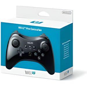 MANETTE JEUX VIDÉO Manette Wii U Pro noire