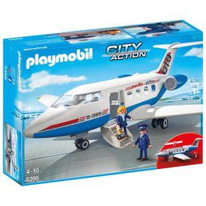 UNIVERS MINIATURE Playmobil 5395 City Action Passenger Plane 1QI22M