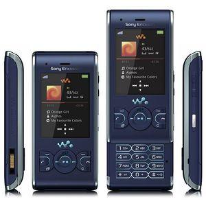 Téléphone portable SONY ERICSSON W595 BLEU  - TOUT OPERATEUR
