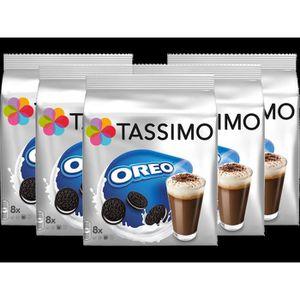 CAFÉ TASSIMO Oreo Boisson au chocolat, dosettes à café