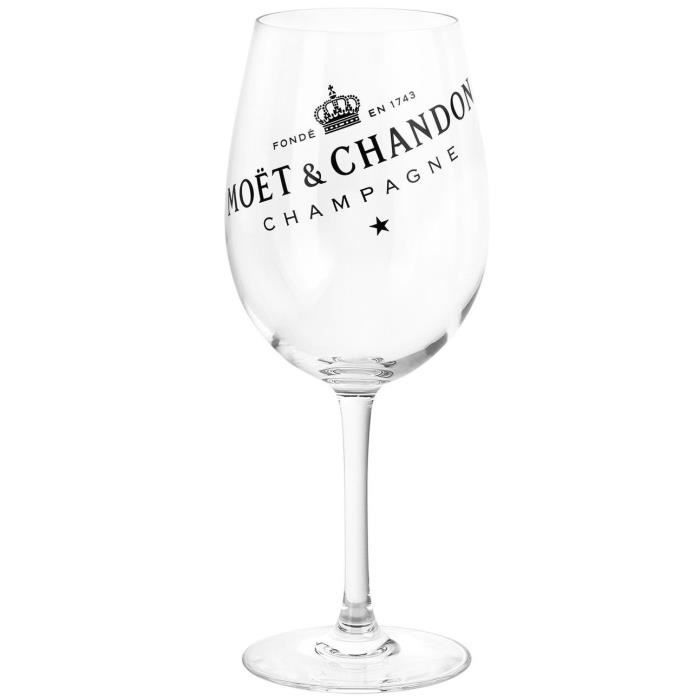Champagne Moët & Chandon Champagne CHAMPAGNE Coupe en verre forme