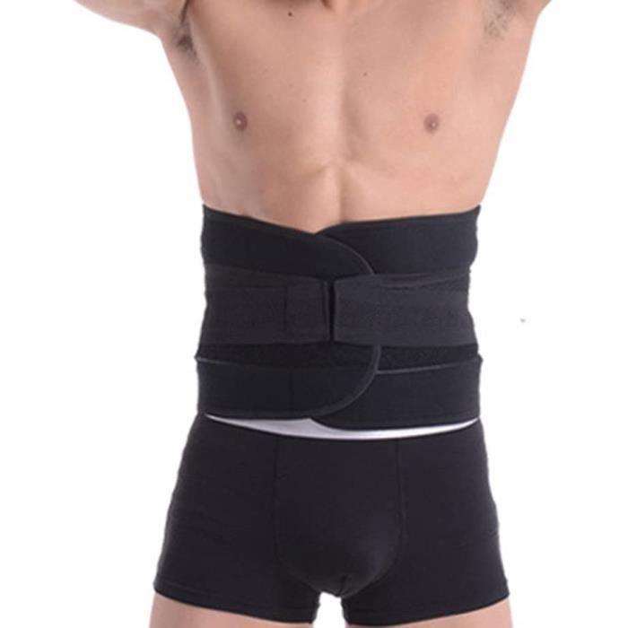 ceinture de soutien du dos attelle dorsale attelle lombaire fabriquée avec des matériaux respirants pour un soulagement optim