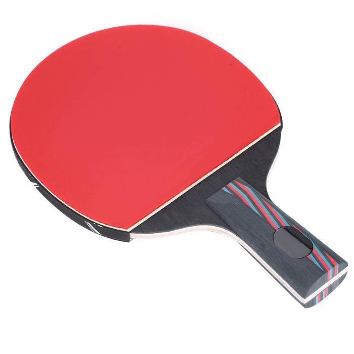 Atyhao raquette de ping-pong 1 Pcs Raquettes De Balle De Pingpong Raquette De Tennis De Table Bat Paddle Accessoires (Penhold)