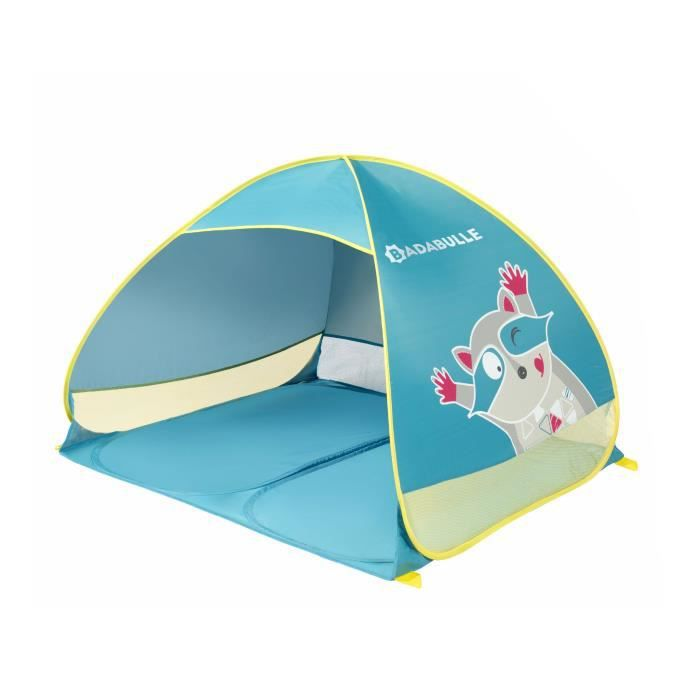 Badabulle Tente anti-UV - Système pop-up - Protection FPS 50+