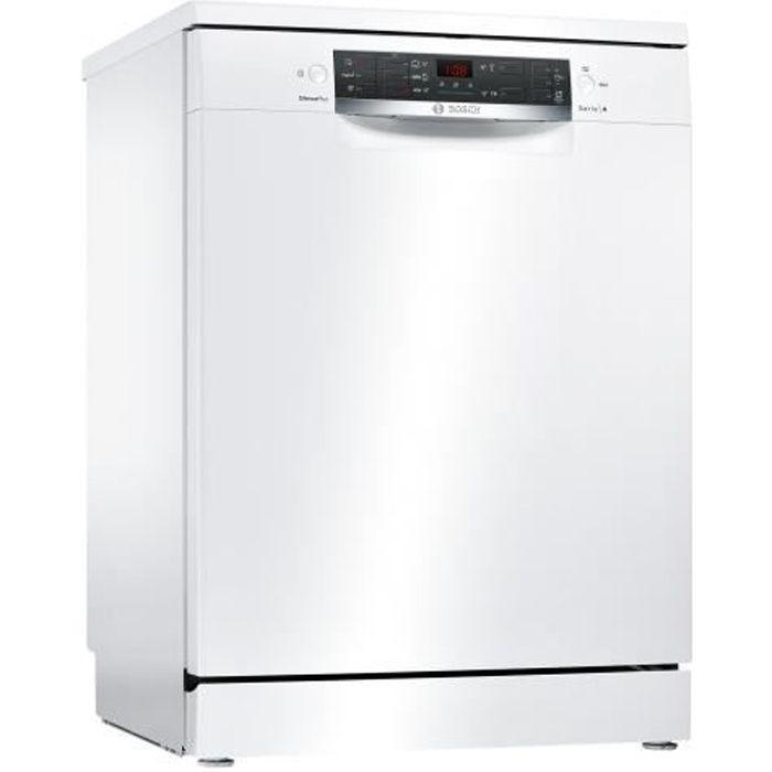 Bosch Serie - 4 SMS45AW02E Lave-vaisselle pose libre largeur : 60 cm profondeur : 60 cm hauteur : 84.5 cm blanc