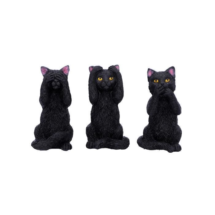Décoratif Three Wise Felines