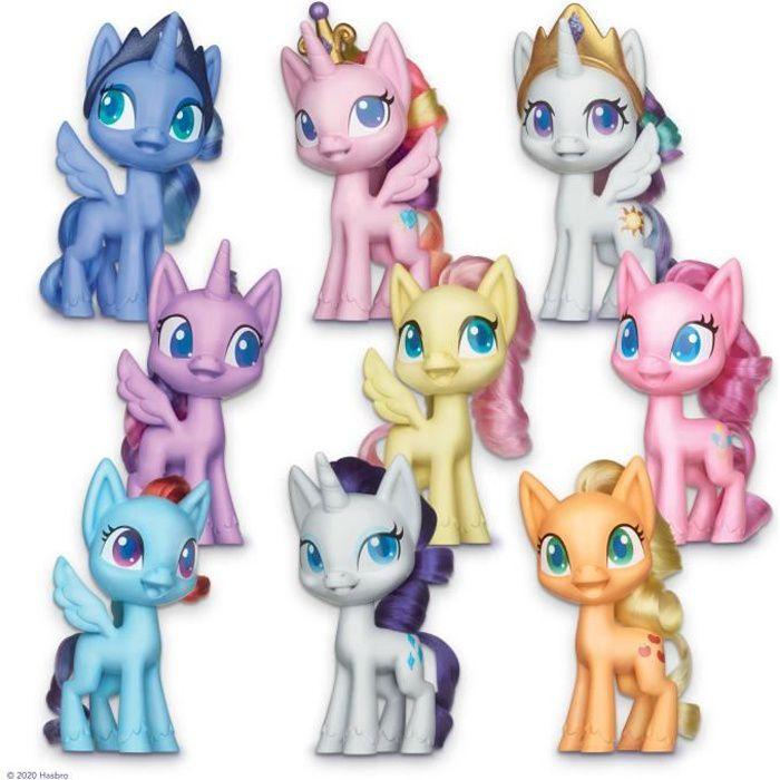 My Little Pony – Coffret de 9 figurines Poneys de 12,5 cm - Grande collection de l'amitié