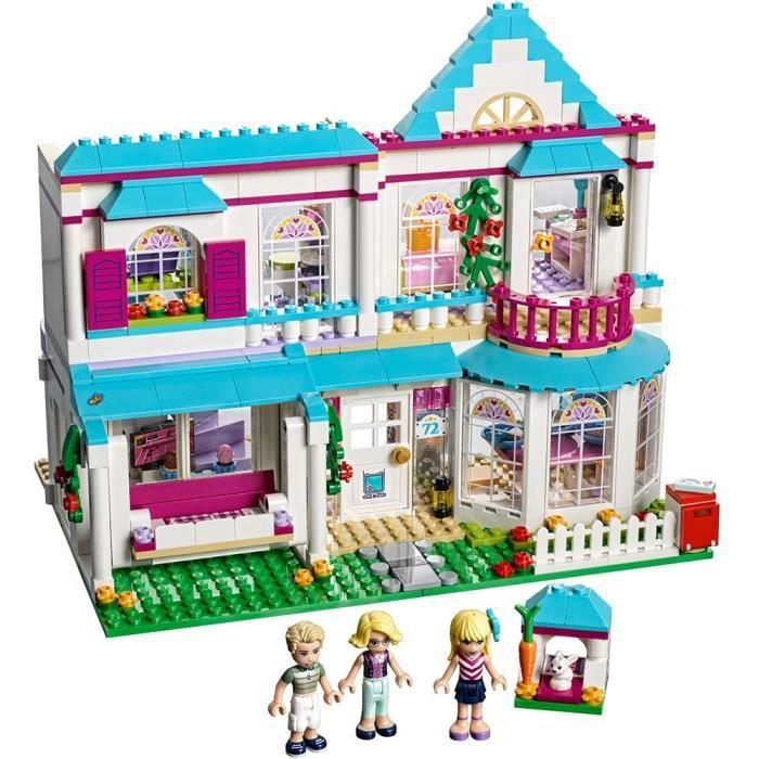 Jeu D'Assemblage LEGO EKONI Maison d'amis Stephanie 41314 Toy Pour 8 ans
