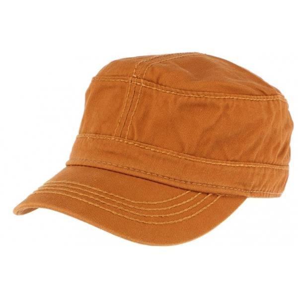 Casquette militaire orange Cliff - Orange - Taille unique
