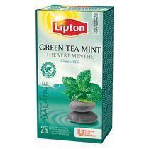 Thé vert menthe Lipton - Boîte de 25 sachets Un…