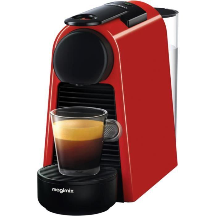 Nespresso Magimix Essenza Mini Rouge 11366 • Expresso - Cafetière • Cuisine et cuisson