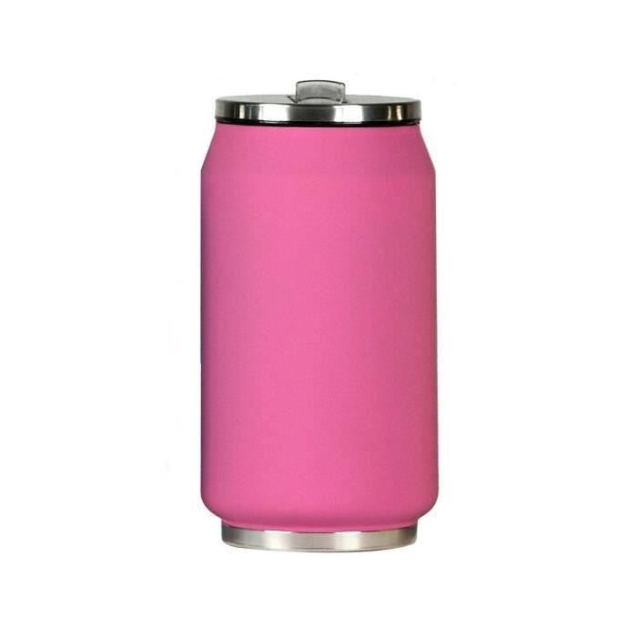 YOKO DESIGN Canette Isotherme 280 ml - Rose mat