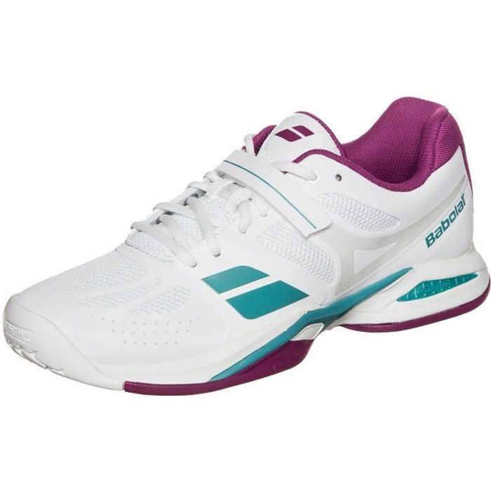 BABOLAT Propulse Ac W Chaussure Femme - Taille 36.5 - BLANC