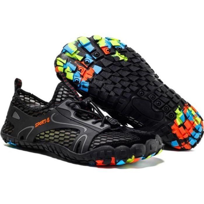 Chaussures de Trail Running Chaussures de Sport Gym Fitness Randonnée Escalade Marche Barefoot Shoes Chaussures Aquatiques EU35-47