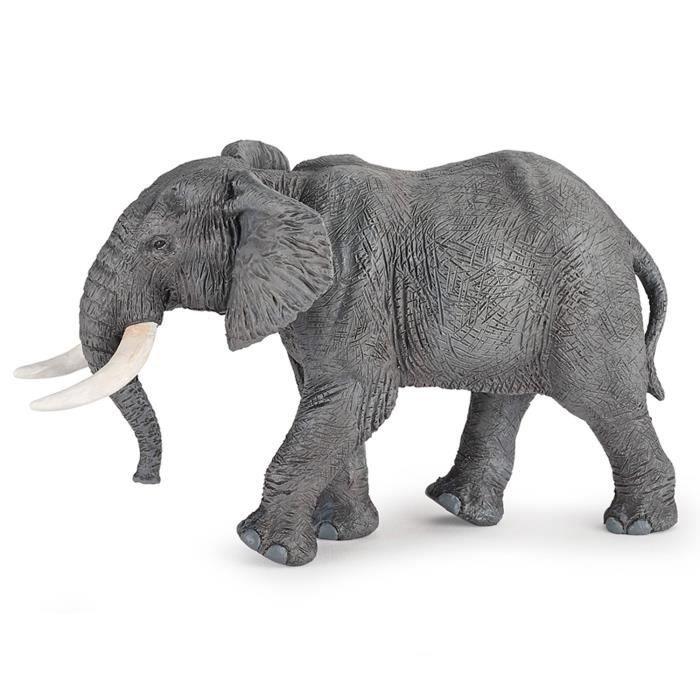 Figurine Eléphant d'Afrique aille Unique Coloris Unique