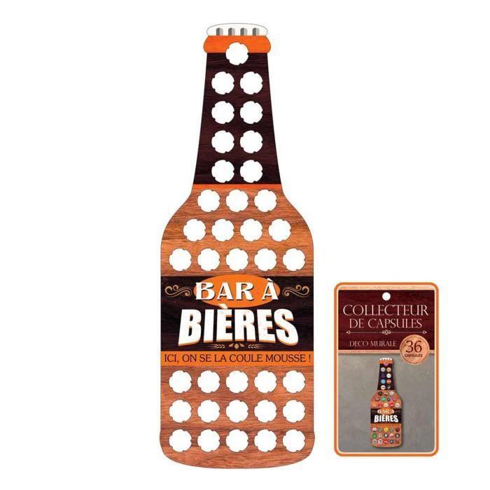 Collecteur de Capsules de Bières